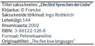 Chapman_G_5 Sprachen der Liebe